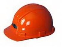 优乐在线娱乐劳保用品-ABS-平三筋安全帽