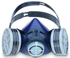 Honeywell 2000 系列硅胶半面罩