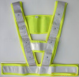 LED反光马甲(反光背心)