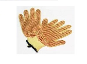 KEVLAR丁腈点塑手套